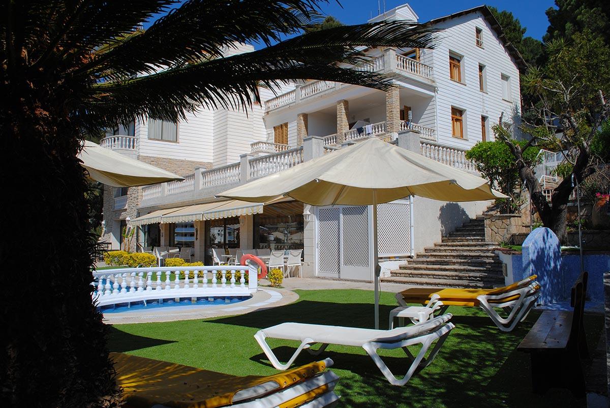 Bonsol Hotel - Jardin - Piscina - Lloret - Costa Brava