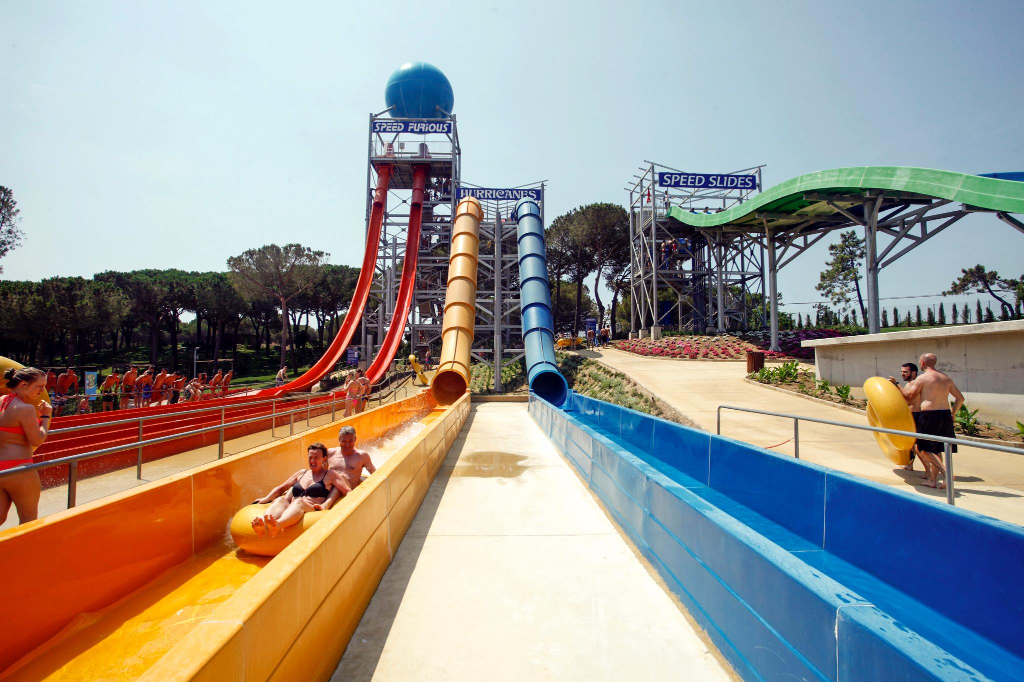 Bonsol Hotel - Activities - Water World - Lloret - Costa Brava